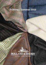 Frühling / Sommer 2010 - Holland & Sherry