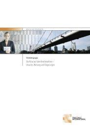 Die Krise auf den Kreditmärkten - True Sale International GmbH
