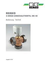 3-Wege-Umschaltventil DN 40 D-C04 - Remko