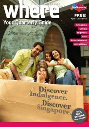 Your Quarterly Guide - Singapore Tourism Board