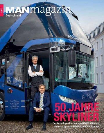 MANmagazin Ausgabe Bus 1/2017