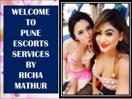 Richa mathur erotic girls in Pune