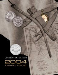 2004 United States Mint Annual Report - The United States Mint