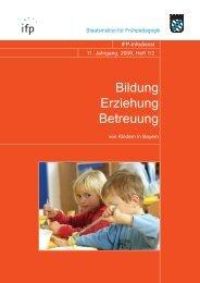 Nachrichten aus dem Sozialministerium - IFP - Bayern
