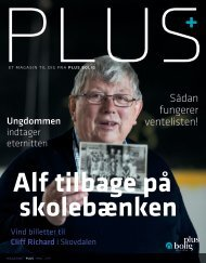 Magasinet PLUS - Maj 2017 - Alf tilbage på skolebænken