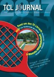 Tennisclub Lörrach_Journal 2017