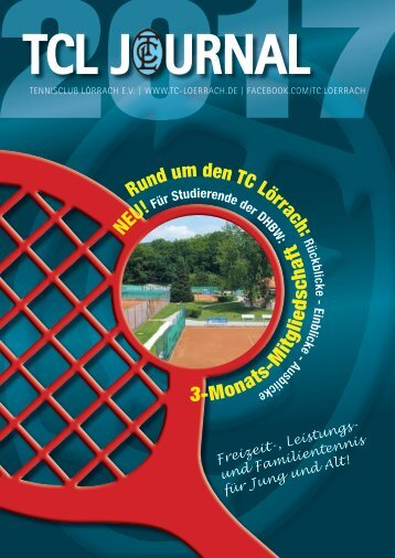 Tennisclub Lörrach_Journal 2017
