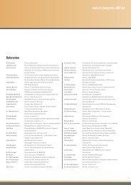 TSI-Kongress 2007 - Referenten (PDF) - True Sale International GmbH