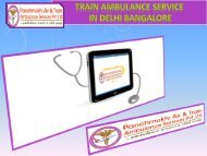 Need Low Cost Train Ambulance Services