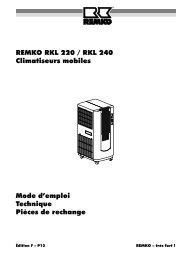 remko rkl220-240