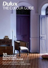 THE COLOUR GUIDE - Dulux India