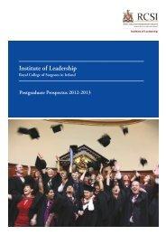 Ireland Prospectus - Institute of Leadership