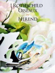 Rothschild Oiseaux Herend - Herendi porcelán Herendi porcelán