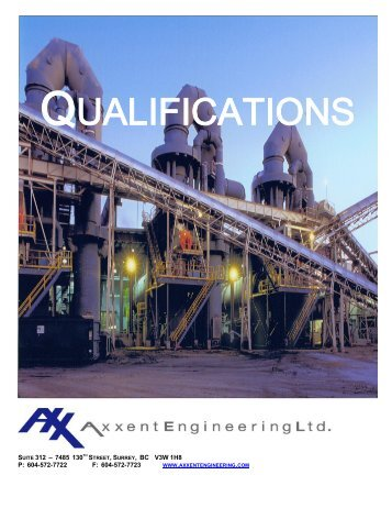 Projects - Axxent Engineering Ltd.