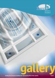 brochure new running order - Shaws Glass