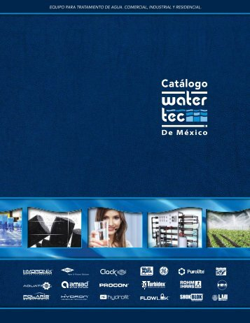 Water Tec - WTM_Catalogo_2016 copia