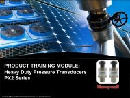 Heavy Duty Pressure Transducers PX2 Series - TTI Europe