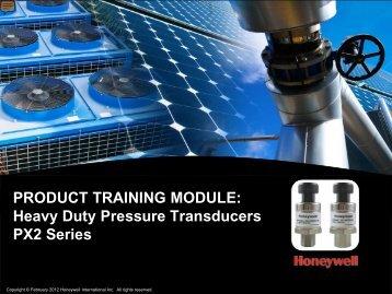 Heavy Duty Pressure Transducers PX2 Series - TTI Europe