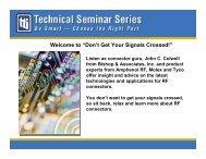 Intro & John Colwell - TTI Inc.