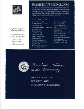 SRJC President's Address 2017 1