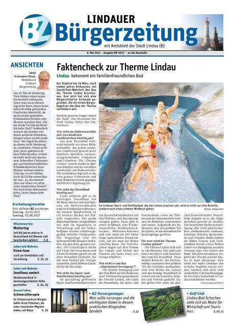 06.05.2017 Lindauer Bürgerzeitung