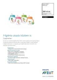 SCF608/01 Philips Mintás itató