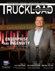 Truckload Authority - Spring 2017