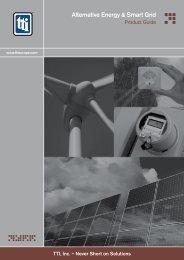 Alternative Energy & Smart Grid - TTI Europe