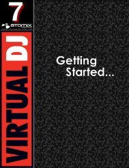 VirtualDJ 7 - Getting Started