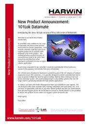 New Product Announcement - 101Lok Datamate.pub - TTI Europe