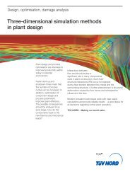 Three-dimensional simulation methods in plant design - TÜV NORD ...