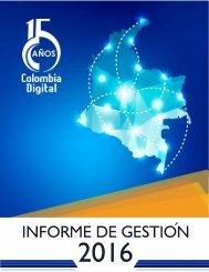INFORME DE GESTIÓN 2016 - Asamblea 2017