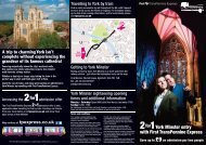2for1York Minster entry with First TransPennine Express