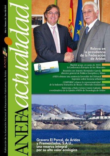 nº 16 (febrero de 2010) - Anefa