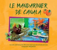 Le mandarinier de Canala