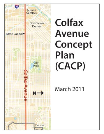 Colfax Avenue Concept Plan (CACP) - City and County of Denver