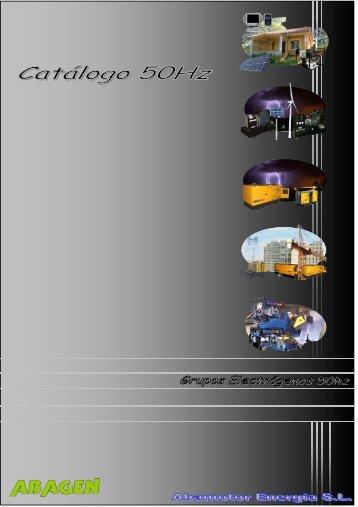 Nuevo Catálogo 50Hz (Español) - Abamotor