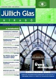 a tartalomból - Jüllich Glas Holding Zrt.