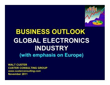 Download the charts from my presentation. - TTI Europe