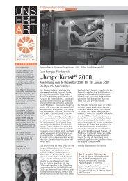 """""""Junge Kunst"""" 2008 - Gesellschaft zur Förderung des Saarl ..."""