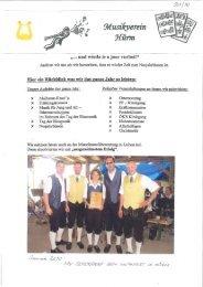 Gemeindechronik Jahr 2010 - Teil 1 (8,95 MB
