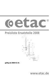 Detail Spezifikation Minova - Etac