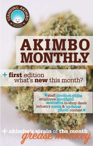 Akimbo Monthly | May 2017