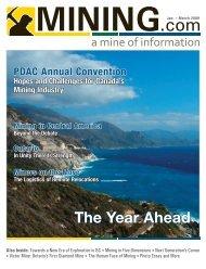 The Year Ahead - MINING.com Magazine