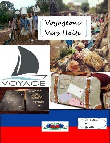 voyageons vers haiti