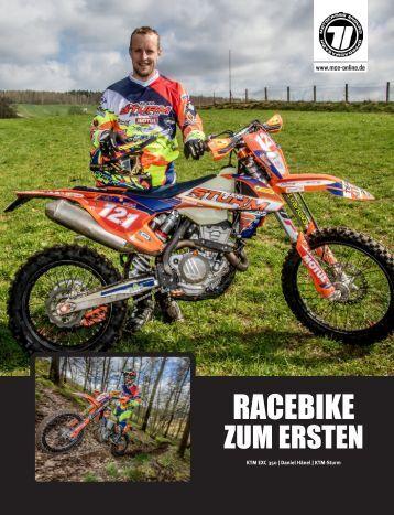 Racebike Daniel Hänel 2017