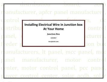 Ais Saab R5 >> R5 AIS Junction Box Installation Guide - Saab