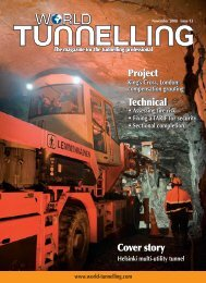 Technical Project Cover story - Mining Journal
