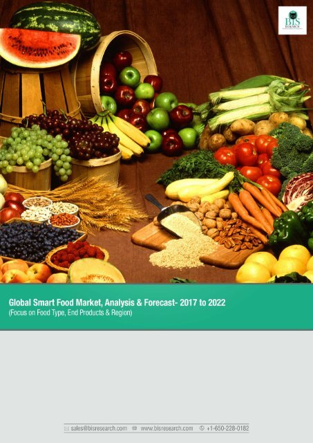 Global Smart Food Market Forecast 2017-2022