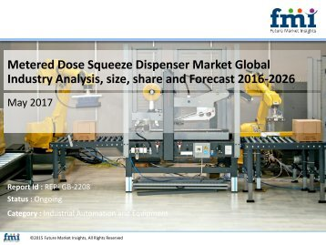 Metered Dose Squeeze Dispenser Market